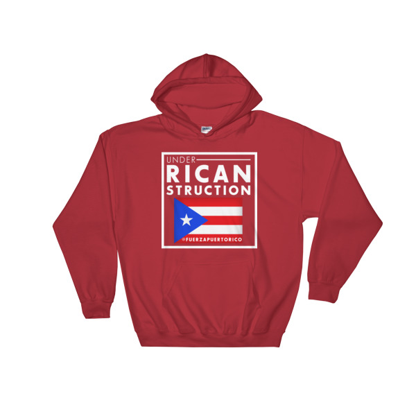 UNDER RICANSTRUCTION Hoodie