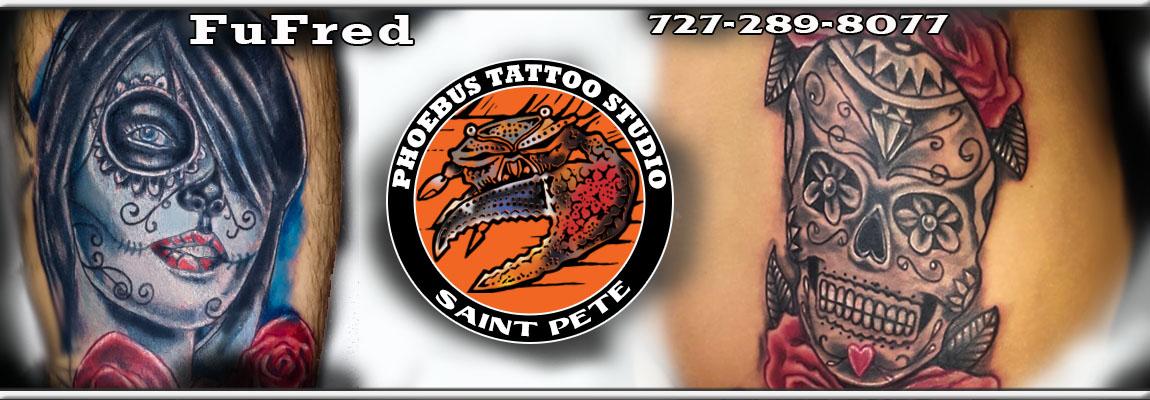 Fufred Phoebus Tattoos