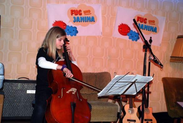 Cello wurde auch schon in unserer Show gespielt
