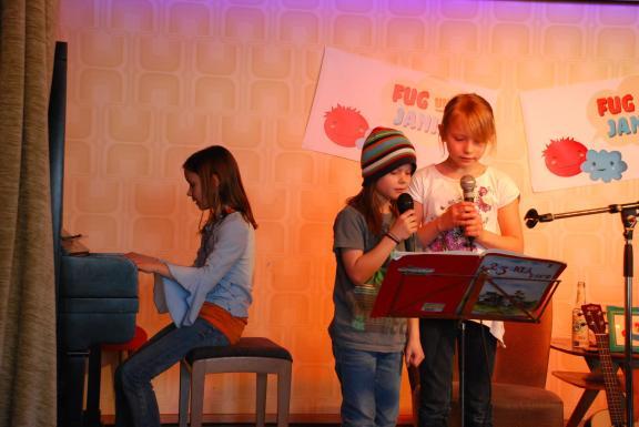 Karlas Band probt für den Autritt.