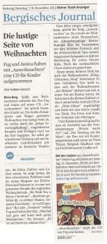 Kölner Stadtanzeiger 08 12 2013
