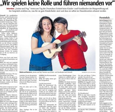 Lippische Landeszeitung 26 09 19