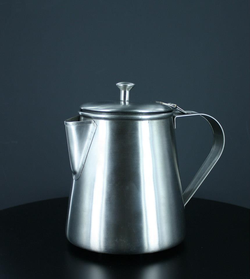 Stainless Steel metal ware, Cowboy coffee pot
