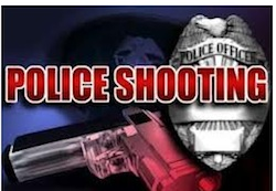 1 police shooting logo