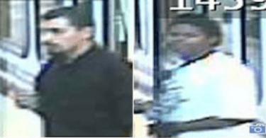 ID #13-118 Robbery suspects ID needed from San Jose light rail