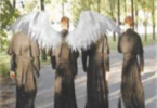 Angel priest appears on scene?