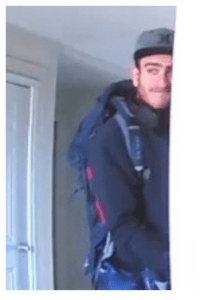 ID #18-522 Alleged Draper Utah Burglar Caught on Camera