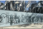 vandalizing the San Jose Veterans Memorial