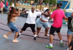 Family Fight at Disneyland