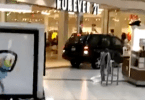 SUV crashed into the Sears at Woodfield Mall