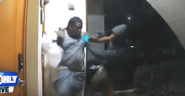 Victim shot 4 times on his porch caught on camera