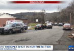 State Trooper Shot Scene