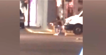 Woman with Assault Rifle in Shootout with Police Caught on Camera