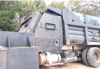 Cartel Armored Truck Seized Mexican Army in Aguililla, Michoacán