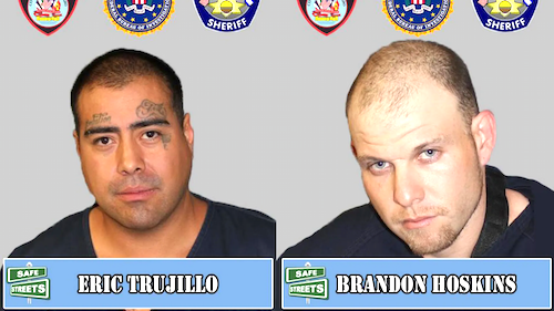 Eric Trujillo and Brandon Hoskins Wanted by Colorado Task Force