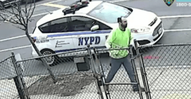 ID #20-89 Man Allegedly Attacks NYPD Car