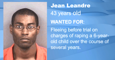 ID #20-120 Jean Leandre Wanted