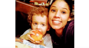 Leila Cavett (R) could be the mother of the child found wandering Miramar alone. (Source: Miramar Police)