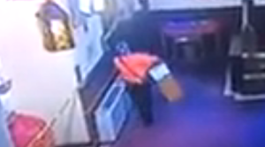 ID #20-260 Suspect stealing from church's collection box