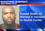 ID #20-262 Russell Smith Wanted for Alleged Double Murder