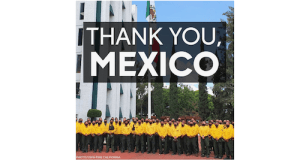 Mexico Sending 100 More Firefighters to Help Fight U.S. Wildfires