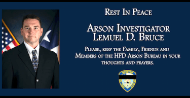 Houston Fire Department Arson Investigator Lemuel D. Bruce