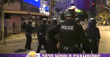 LA Lakers Win Turns into Riots in the Streets of Los Angeles