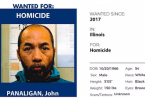 ID #20-474 Fugitive John Panaligan Added to Marshal's Most Wanted List