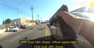 Female Officer Shoots Man with a Knife