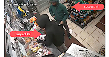 ID #21-2 Alleged carjacking suspects