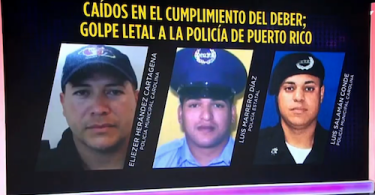 Puerto Rico police officers killed by carjacker