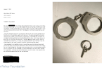 Grandfather Returns Handcuffs to LAPD He Stole Over 60 Years Ago