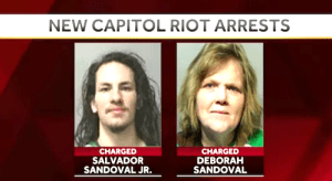 Mother and Son Arrested for Alleged Participation in Capitol Attack