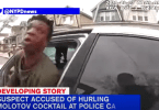 Alleged suspect in attack on NYPD police officer