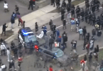Crowds Protesting After Brooklyn Center Police Shoot Kill Man