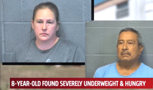 Mom and Friend Arrested After 8-Year-Old Boy Found Weighing 30 Pounds
