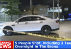 5 Shot Outside New York Warehouse Party
