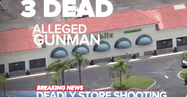 Woman, toddler shot dead at Florida grocery store
