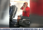 Alleged Unruly, Growling Passenger Arrested Following a Flight from LAX