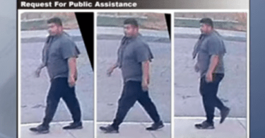 ID #21-392 Alleged Suspect. Credit: Riverside Sheriff's Office