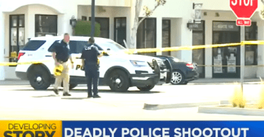Man Shot Dead After Shooting At Gilroy Police Officer