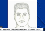ID #21-459 Sketch of suspect Credit Pleasant Hill PD