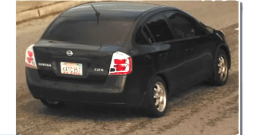 ID #21-466 Suspect vehicle wanted in shootout robbery
