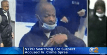 ID #21-475 Alleged suspect. Credit NYPD