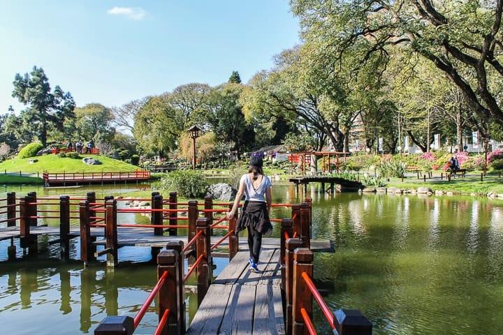 Jardín Japones em Buenos Aires - O que fazer em Buenos Aires - Roteiro de 3 dias em Buenos Aires