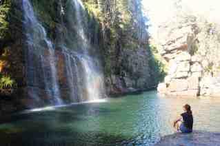 cachoeira almécegas I - Chapada dos Veadeiros