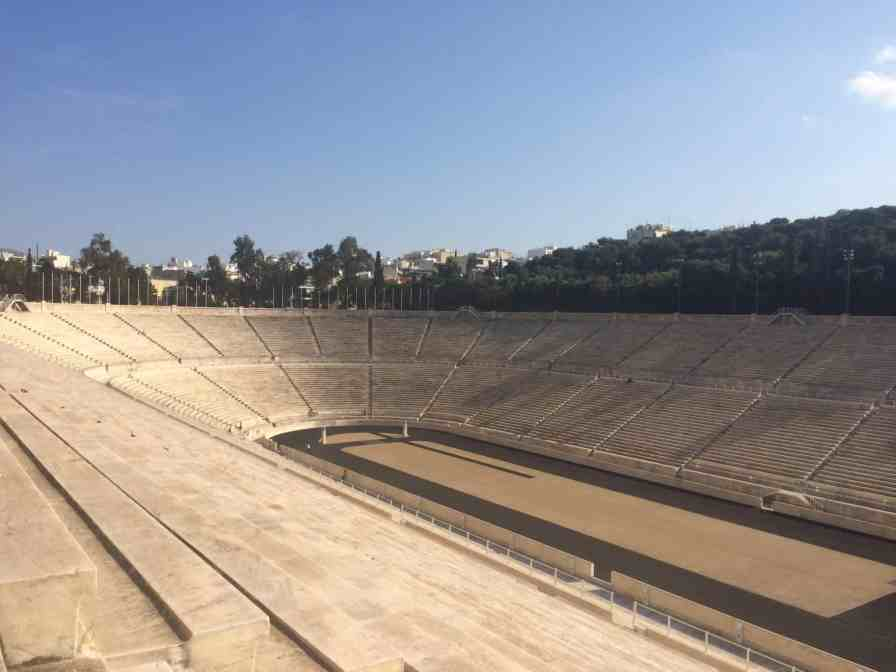 Estádio Panatenaico - Atenas - O que fazer em uma conexão longa em Atenas