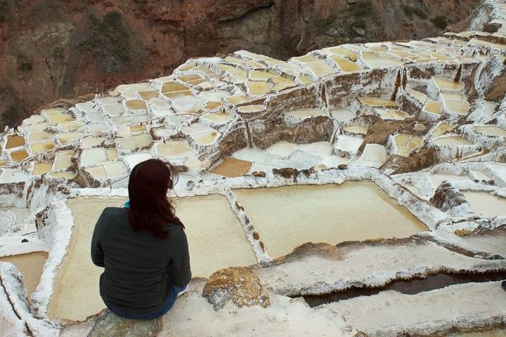 Salineras de Maras - Fui Ser Viajante no Peru