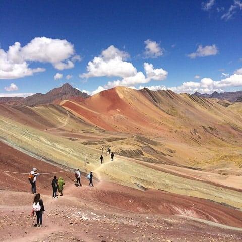 Montaña de Colores - Fui Ser Viajante no Peru