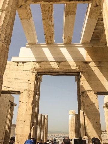 Propileu - conhecendo a incrível Acrópole de Atenas